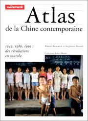 Cover of: Atlas de la Chine contemporaine