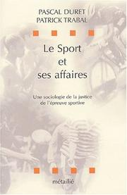 Cover of: Le sport et ses affaires