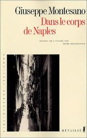 Cover of: Dans le corps de Naples