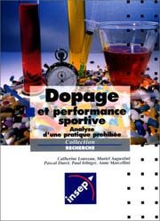 Cover of: Dopage et performance. Analyse d'une pratique prohibée