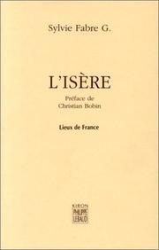 Cover of: L'Isère