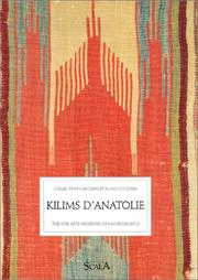 Cover of: Kilims d'Anatolie