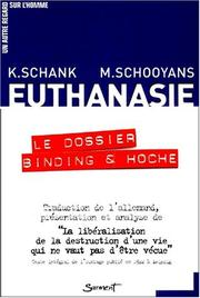 Cover of: Euthanasie, le dossier Binding & Hoche