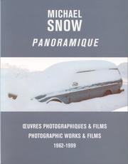 Cover of: Michael Snow Panoramique