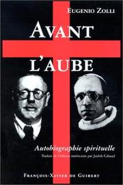 Cover of: Avant l'aube