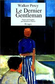 Cover of: Le dernier gentleman