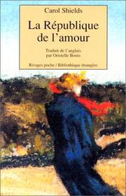 Cover of: La république de l'amour