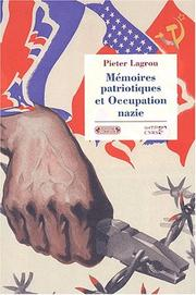 Cover of: Mémoires de l'occupation nazie en Europe occidentale