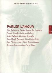 Cover of: Parler l'amour