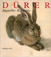 Cover of: Albrecht Dürer, aquarelles et dessins