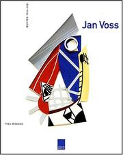 Cover of: Jan Voss, oeuvres 1986-2001