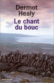 Cover of: Le Chant du bouc