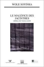 Cover of: Le Maléfice des jacinthes
