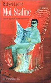 Cover of: Moi, Staline