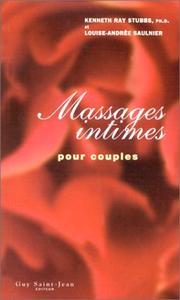 Cover of: Massages intimes pour couples