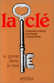 Cover of: La clé