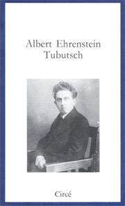 Cover of: Tubutsch