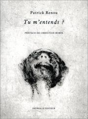 Cover of: Tu m'entends ?