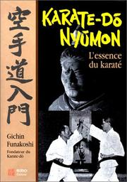 Cover of: Karaté-do nyumon