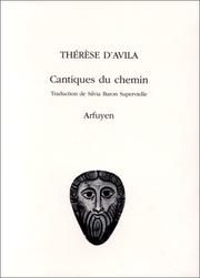 Cover of: Cantiques du chemin