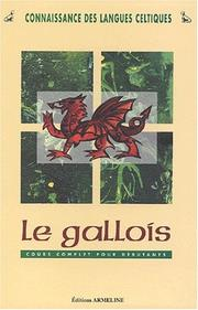 Cover of: Le gallois