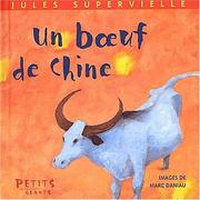 Cover of: Un boeuf de chine