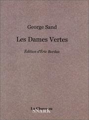 Cover of: Les dames vertes