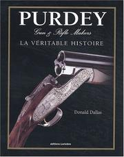 Cover of: Purdey