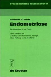 Cover of: Endometriose