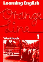 Cover of: Learning English, Orange Line Tl. 1. Workbook.