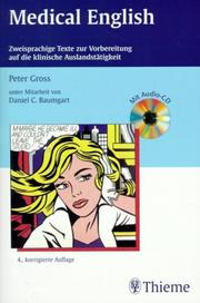 Cover of: Medical English.