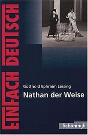 Cover of: Nathan der Weise. Mit Materialien.