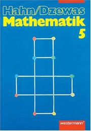 Cover of: Hahn/Dzewas, Mathematik, EURO, 5. Schuljahr