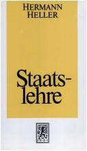 Cover of: Staatslehre