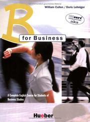 Cover of: B for Business, Coursebook