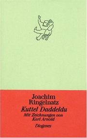 Cover of: Kuddel Daddeldu.