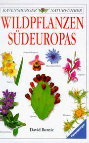 Cover of: Wildpflanzen Südeuropas.