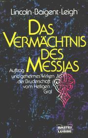 Cover of: Das Vermächtnis des Messias.