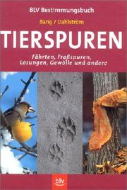 Cover of: Tierspuren
