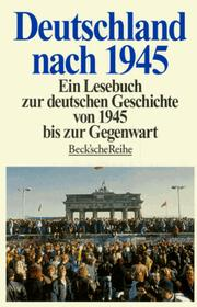 Cover of: Deutschland Nach 1945