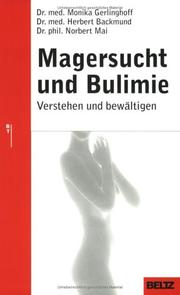 Cover of: Magersucht und Bulimie