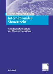 Cover of: Grundlagen des internationalen Steuerrechts.