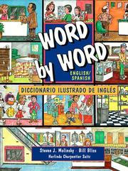 Cover of: Word by Word Picture Dictionary