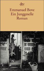 Cover of: Ein Junggeselle.