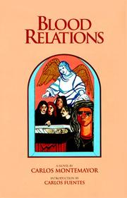 Cover of: Blood relations: a novel