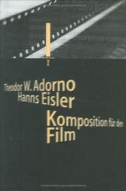 Cover of: Komposition für den Film
