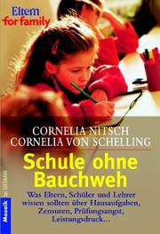 Cover of: Schule ohne Bauchweh.