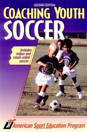 Cover of: Coaching youth soccer