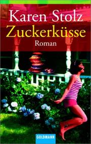 Cover of: Zuckerküsse.