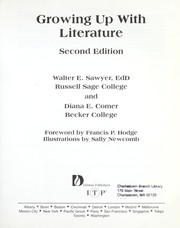 Cover of: Growing up with literature